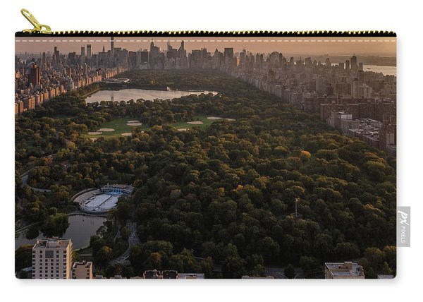 Over The City Central Park Carry-all Pouch
