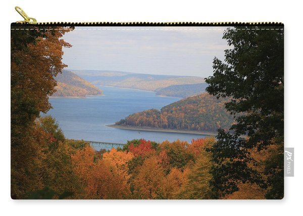 Overlooking Kinzua Lake Carry-all Pouch
