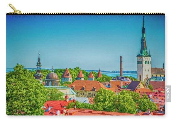 Overlooking Tallinn Carry-all Pouch
