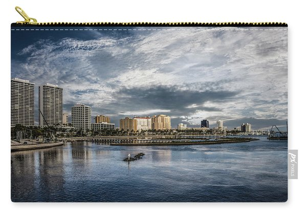 Overlooking West Palm Beach Carry-all Pouch