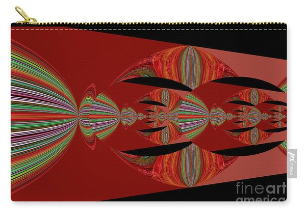 Red Abstract Ovs 26 Carry-all Pouch