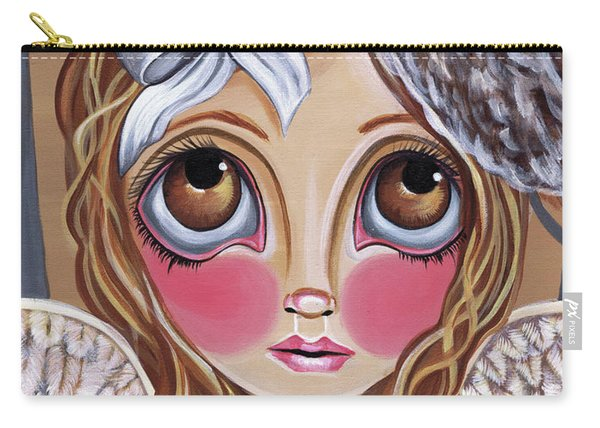 Owl Angel Carry-all Pouch
