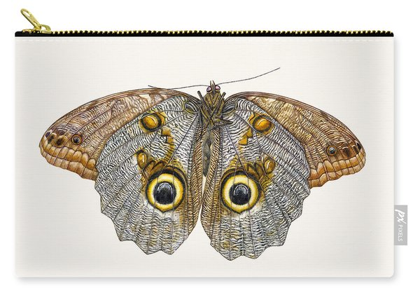 Owl Butterfly Carry-all Pouch