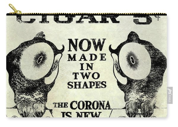Owl Cigar Advertisement 1909 Carry-all Pouch