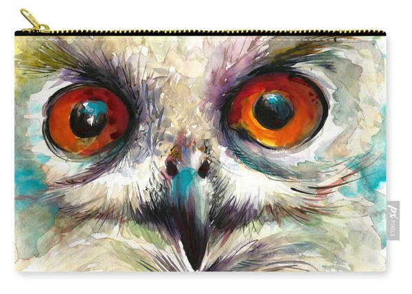 Owl Eyes - Detail Carry-all Pouch