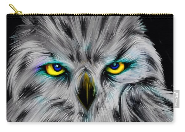Owl Eyes  Carry-all Pouch
