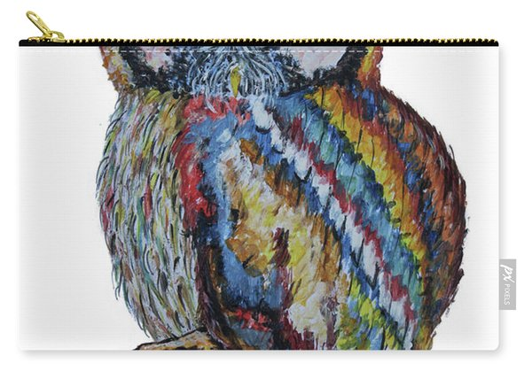 Owl For James Carry-all Pouch