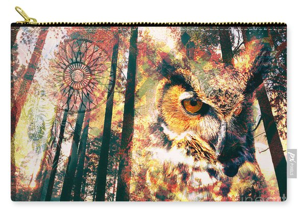 Owl Medicine 2015 Carry-all Pouch
