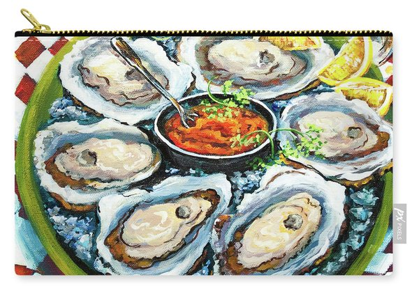 Oysters On The Half Shell Carry-all Pouch