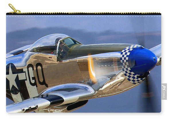 P51d Mustang At Salinas Carry-all Pouch