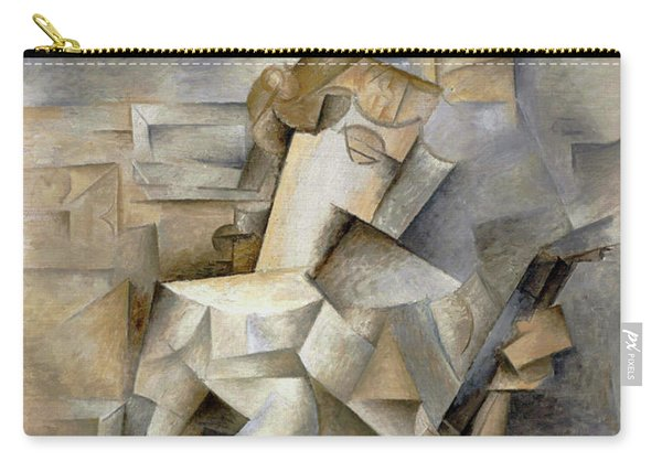 Pablo Picasso Girl With A Mandolin 1910 Carry-all Pouch