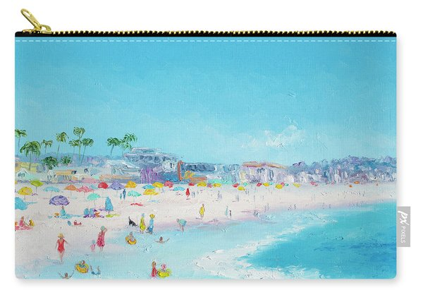 Pacific Beach In San Diego Carry-all Pouch