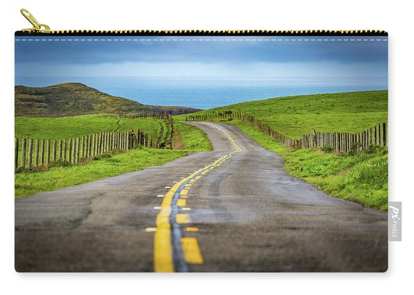 Pacific Coast Road To Tomales Bay Carry-all Pouch