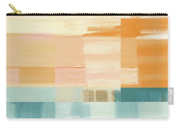 Pacific Sunset- Abstract Art By Linda Woods Carry-all Pouch
