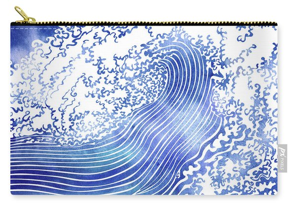 Pacific Waves II Carry-all Pouch