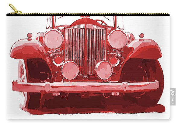 Packard Ask The Man Red Carry-all Pouch