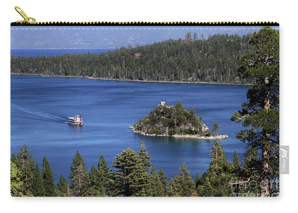 Paddle Boat Emerald Bay Lake Tahoe California Carry-all Pouch
