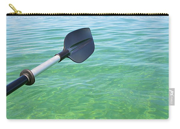 Paddling Grand Traverse Bay Carry-all Pouch