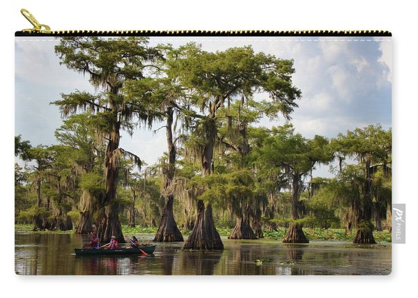 Paddling In The Bayou Carry-all Pouch