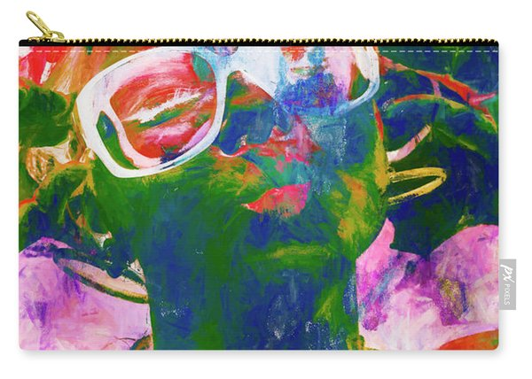 Paint Splash Pinup Art Carry-all Pouch