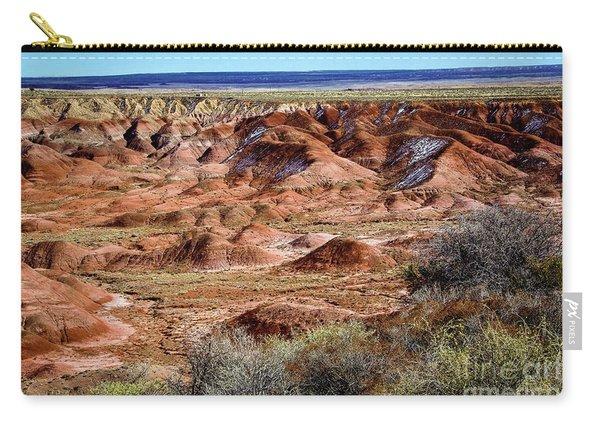 Painted Desert In Winter Carry-all Pouch