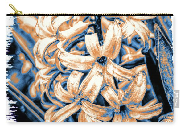 Painted Hyacinth Carry-all Pouch