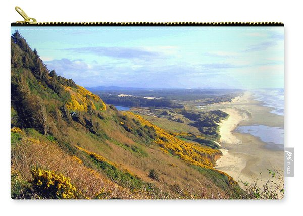 Painted Oregon Coast Carry-all Pouch