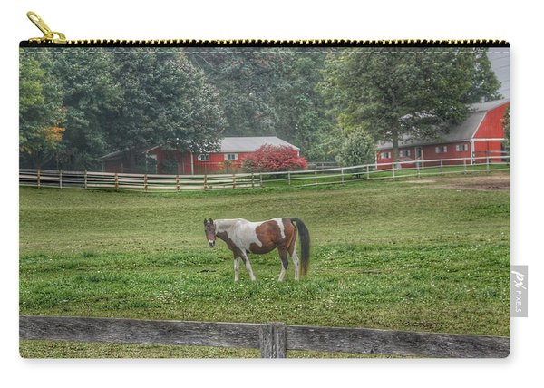 1005 - Painted Pony In Pasture Carry-all Pouch