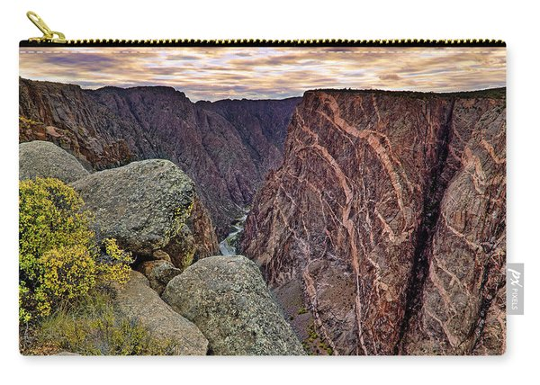 Painted Wall At Black Canyon Of The Gunnison - Colorado - Landscape Carry-all Pouch
