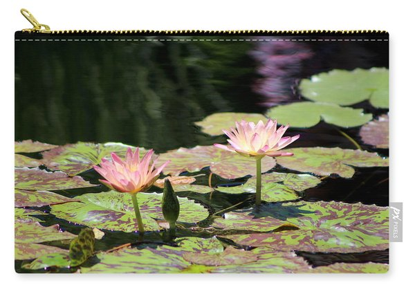 Painted Waters - Lilypond Carry-all Pouch