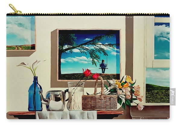 Paintings Within A Painting Carry-all Pouch