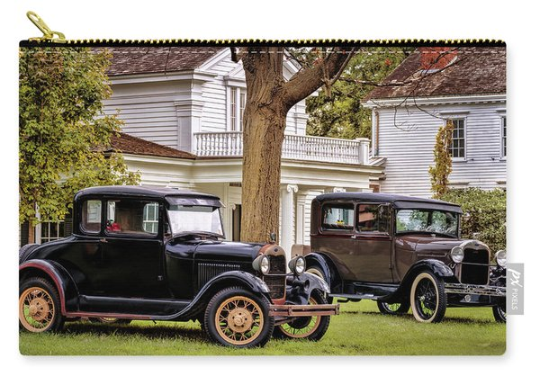 Pair Of Ford Model A  Carry-all Pouch