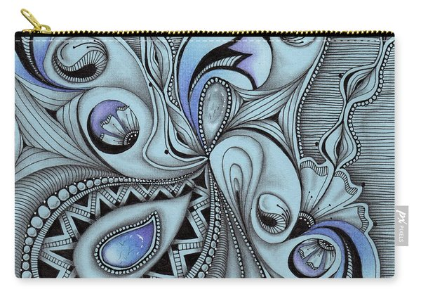 Paisley Power Carry-all Pouch