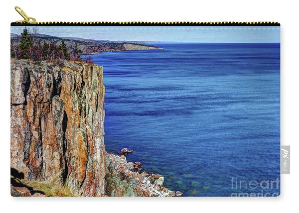 Palisade Head Tettegouche State Park North Shore Lake Superior Mn Carry-all Pouch
