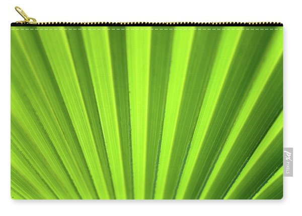 Palm Leaf Abstract Carry-all Pouch