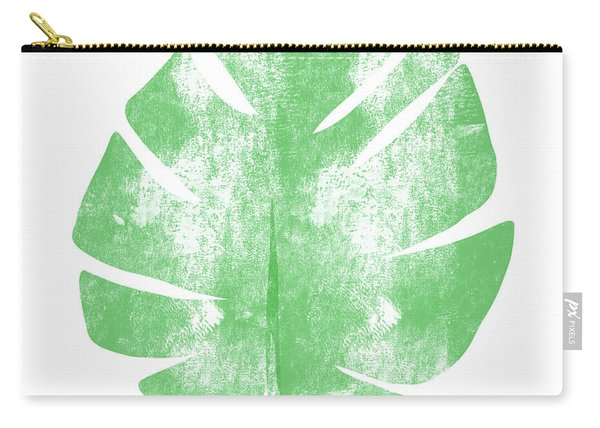 Palm Leaf- Art By Linda Woods Carry-all Pouch