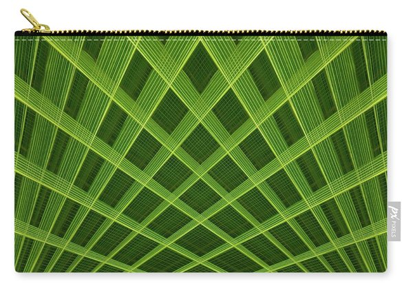Palm Leaf Composite Carry-all Pouch