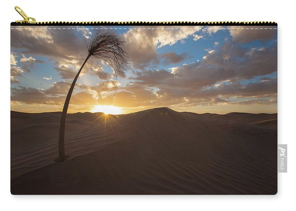 Palm On Dune Carry-all Pouch