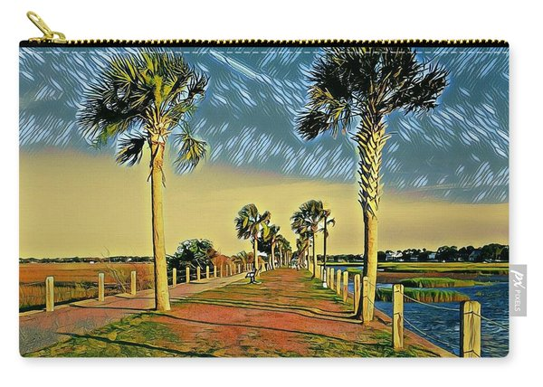 Palm Parkway Carry-all Pouch