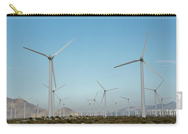 Palm Springs Windfarm Carry-all Pouch