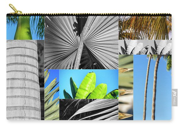 Palm Tree Parts Carry-all Pouch