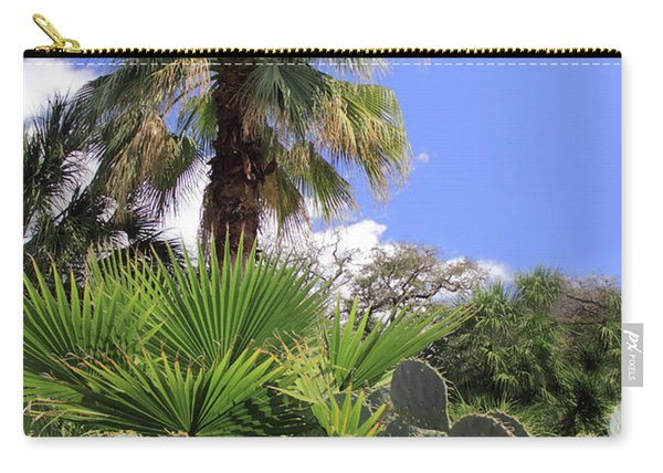 Palm Trees And Cactus Carry-all Pouch
