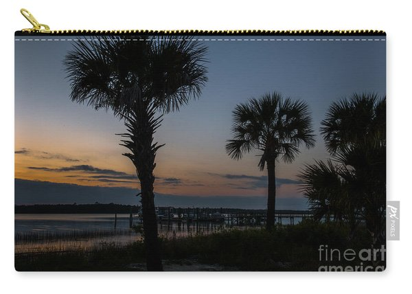 Palmetto Sky Carry-all Pouch