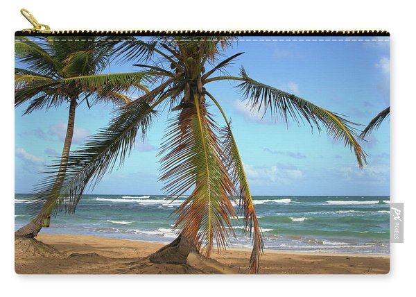 Palms And Sand Carry-all Pouch