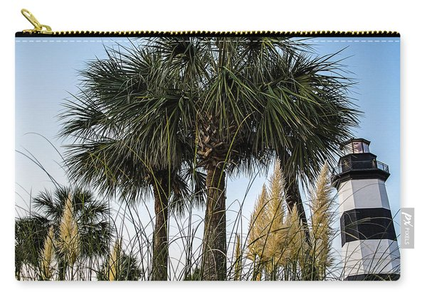 Palms At Lightkeepers Carry-all Pouch