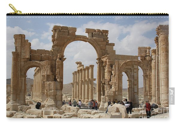 Palmyra Before...triumphal Arch Carry-all Pouch