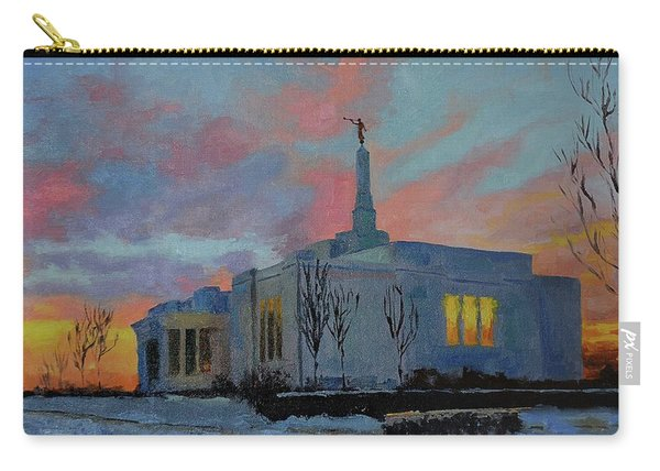 Palmyra Temple At Sunset Carry-all Pouch