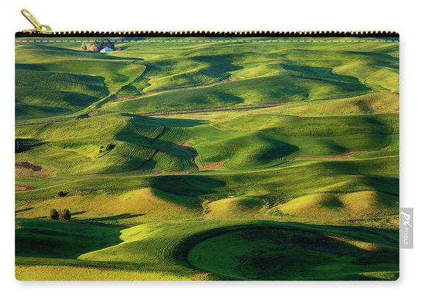Palouse Contours Carry-all Pouch