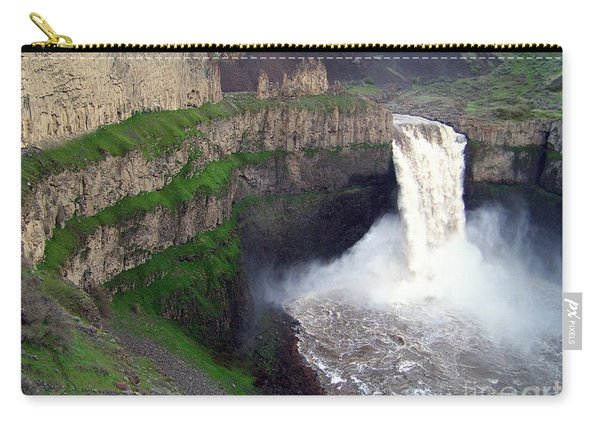 Palouse Falls - The Official Washington State Waterfall Carry-all Pouch