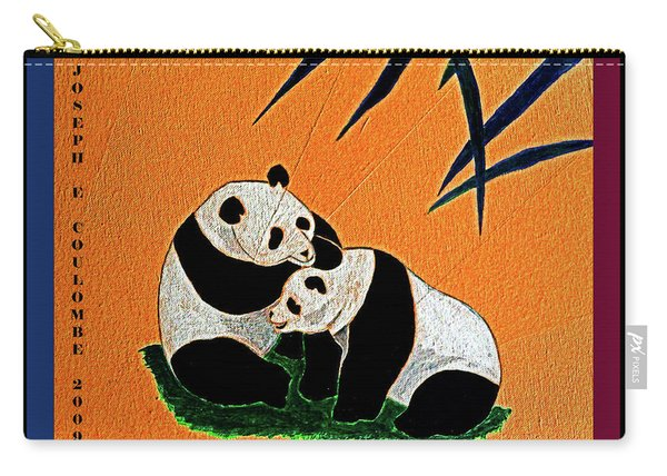 Panda Friends Carry-all Pouch